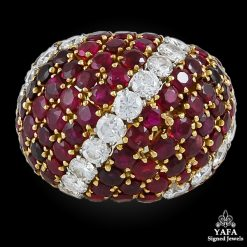 VAN CLEEF & ARPELS Diamond,Ruby Ring