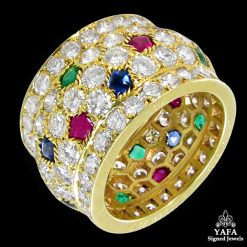CARTIER Nigeria Diamond Tutti Frutti Ring