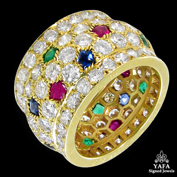 CARTIER Diamond, Multi-color Nigeria Wedding ring