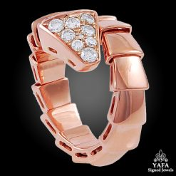 BULGARI Diamond Serpenti Ring