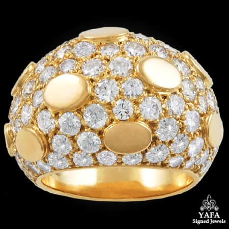 VAN CLEEF & ARPELS Diamond Dome Ring