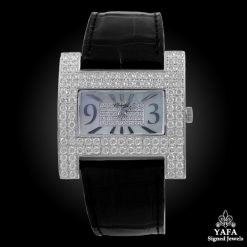 CHOPARD 18k Gold Diamond Ladies Watch