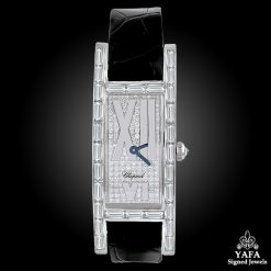 CHOPARD Rectangular Face Baguette Diamond Watch