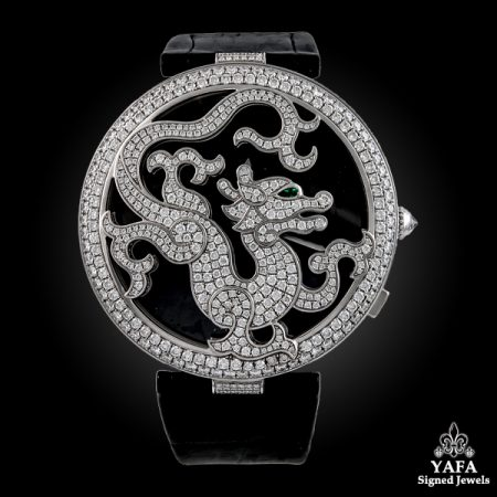 CARTIER Diamond Dragon Watch