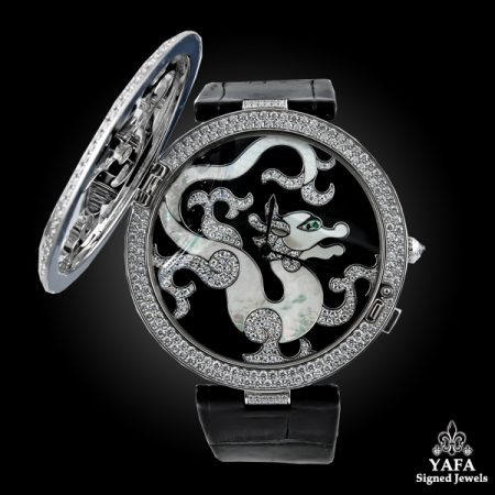 CARTIER Diamond Dragon Watch-view2