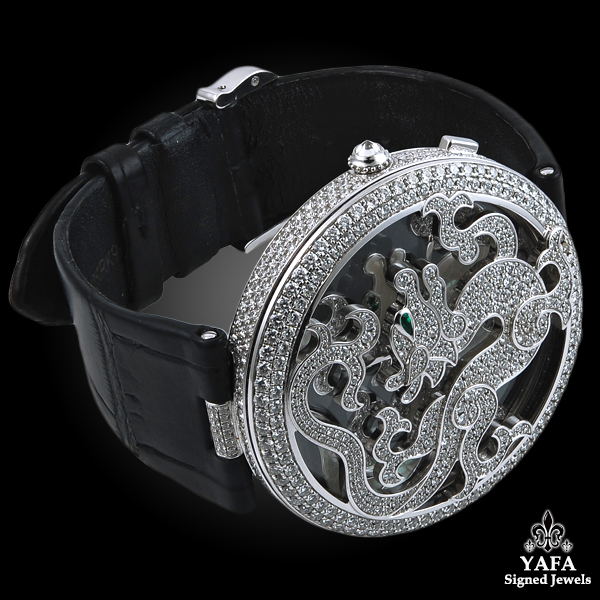 CARTIER Diamond Dragon Watch-view3