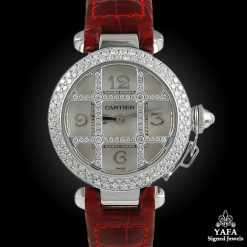 CARTIER Pasha® Grille 32mm Diamond Watch
