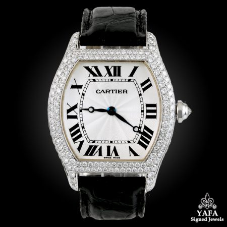 CARTIER Diamond Tortue Large Model Watch