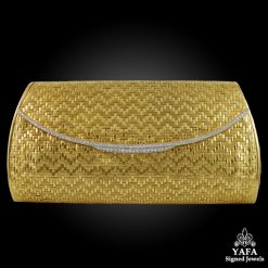 18k Gold Diamond Evening Bag