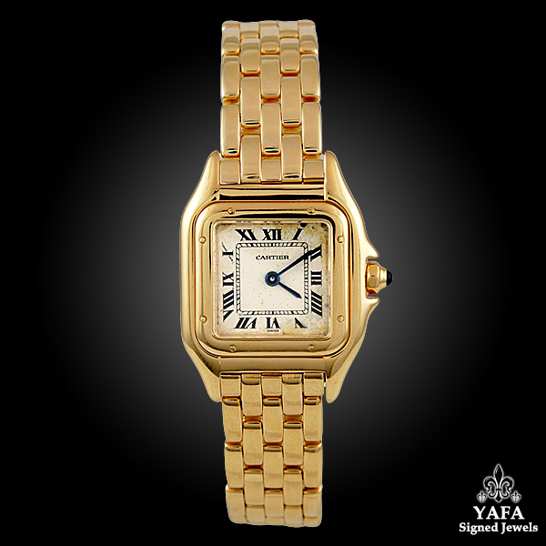 Cartier 18k Gold Ladies Watch