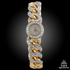 CARTIER Diamond Chain Watch
