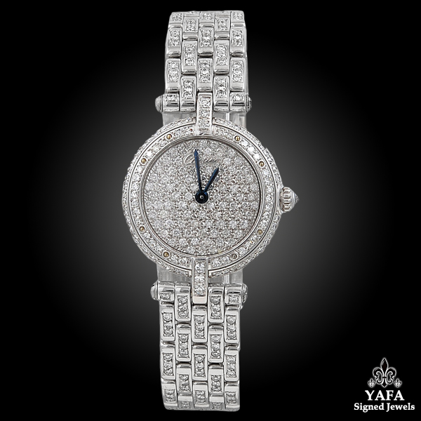 CARTIER Vendome 23mm Diamond Watch