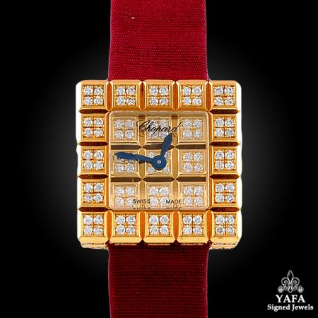 CHOPARD Ice Cube Diamond Watch
