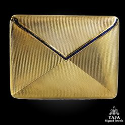 14k Gold Sapphire Compact