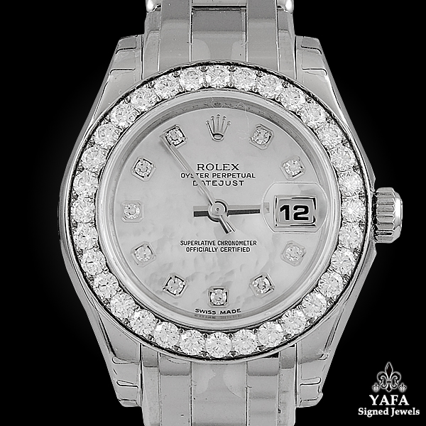 ROLEX Diamond Oyster Watch