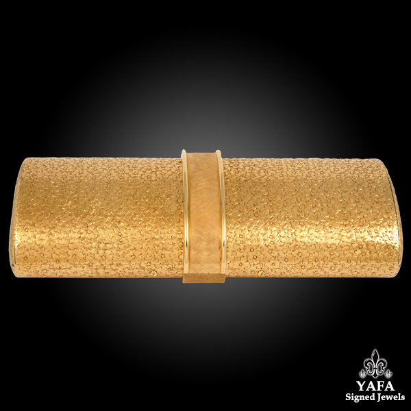18k Yellow Gold Minaudière Purse