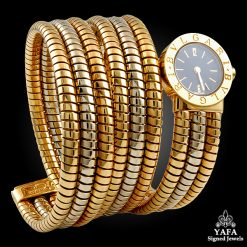 BULGARI Two Tone Gold Serpenti Watch