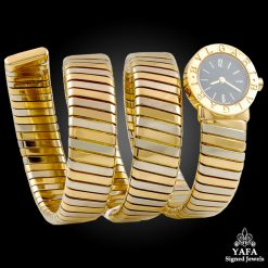 BULGARI Two Tone Snake Watch