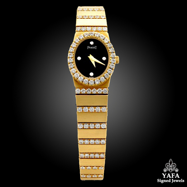 PIAGET Diamond,Onyx Watch