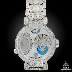 HARRY WINSTON 18k Gold Diamond Watch