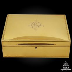 TIFFANY & Co. Gold Jewelry Box
