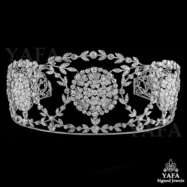 Edwardian Diamond Tiara