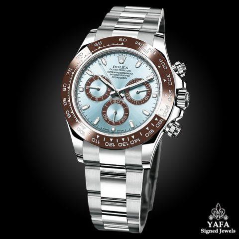 ROLEX Platinum Daytona Watch
