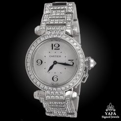 CARTIER Diamond Pasha Watch