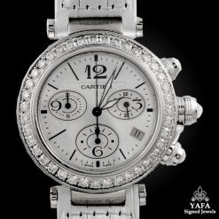 CARTIER PASHA Diamond Chronograph Watch