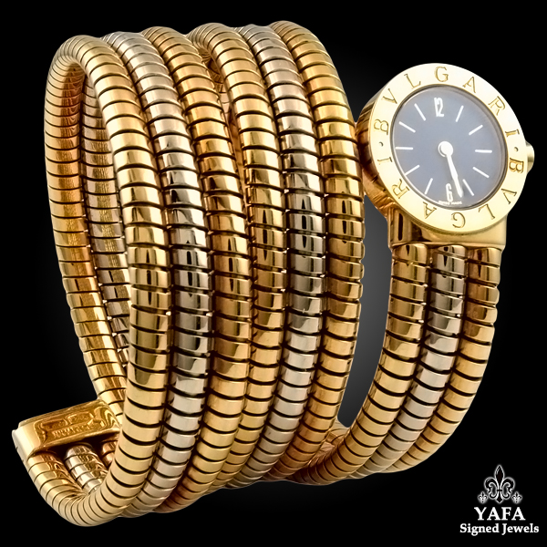 BULGARI Gold Serpenti Watch