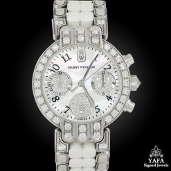 HARRY WINSTON Diamond Chronograph Wristwatch