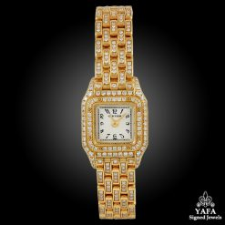 CARTIER Diamond Mini Panther Ladies Watch