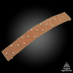 Vintage 18k Gold Diamond Bracelet
