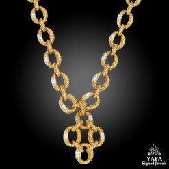 VAN CLEEF & ARPELS Diamond Necklace-Bracelet-Brooch