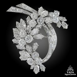1960s VAN CLEEF & ARPELS Diamond Brooch