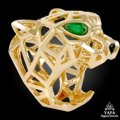 CARTIER Panther Head Ring - 52