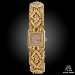 BULGARI Diamond Trika Gold Watch - 16mm