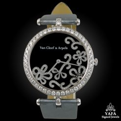 VAN CLEEF & ARPELS Diamond Flower Watch