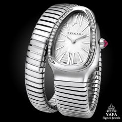 BULGARI Serpenti Diamond, Rubellite Watch