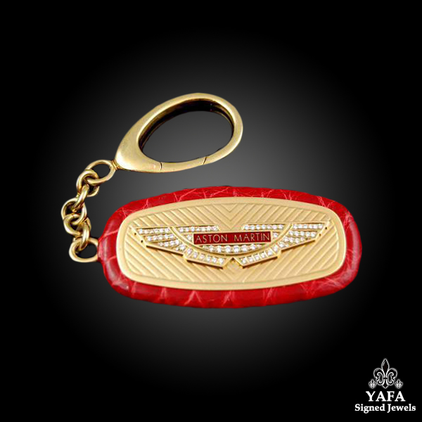 ASTON MARTIN Diamond Key Chain