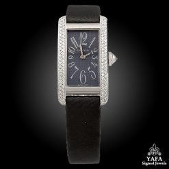 CARTIER Diamond Tank Watch