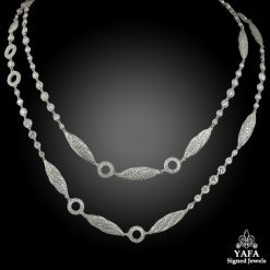 Platinum Diamond Necklace - 18 cts.
