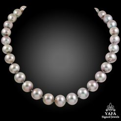 18k Gold Tahitian Pearl Necklace