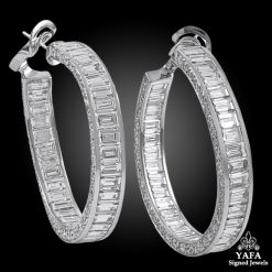 GRAFF Inside Out Diamond Hoop Earrings