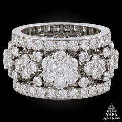 VAN CLEEF & ARPELS Diamond Snowflakes Ring
