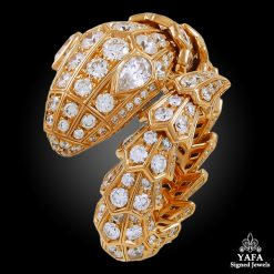 BULGARI Diamond Serpenti Ring - 3.72 cts.