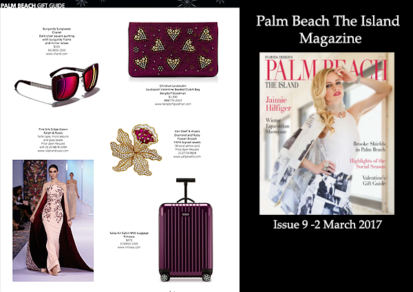 Palm Beach Magazine Gift Guide March 2017