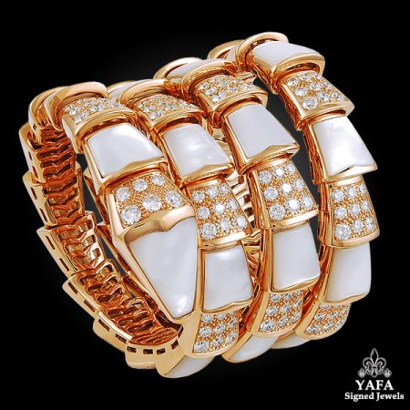 BULGARI Four Coils Serpenti Bracelet