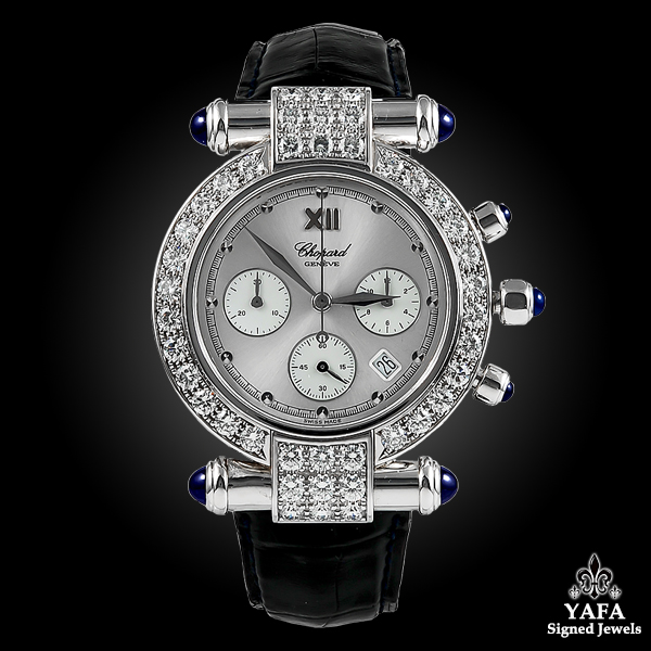 CHOPARD Imperiale Chrono Diamond & Sapphire Watch