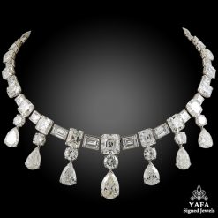 Platinum Diamond Necklace - 135 cts.